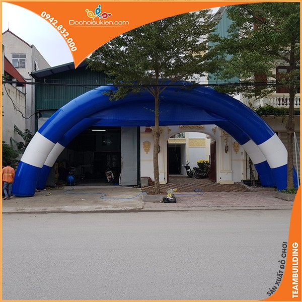 cổng hơi đôi hình cung