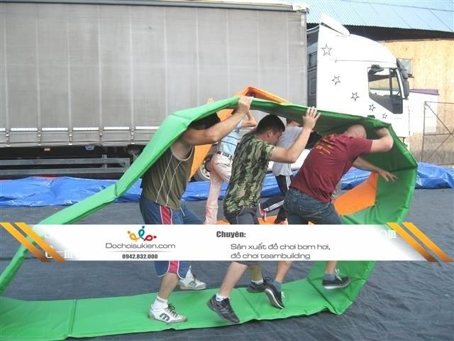 vòng đua khép kín teambuilding