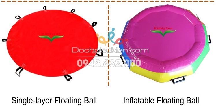 đệm tâng bóng bằng bạt PVC