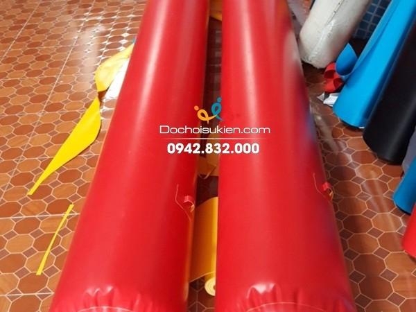 ống phao hơi bằng bạt PVC