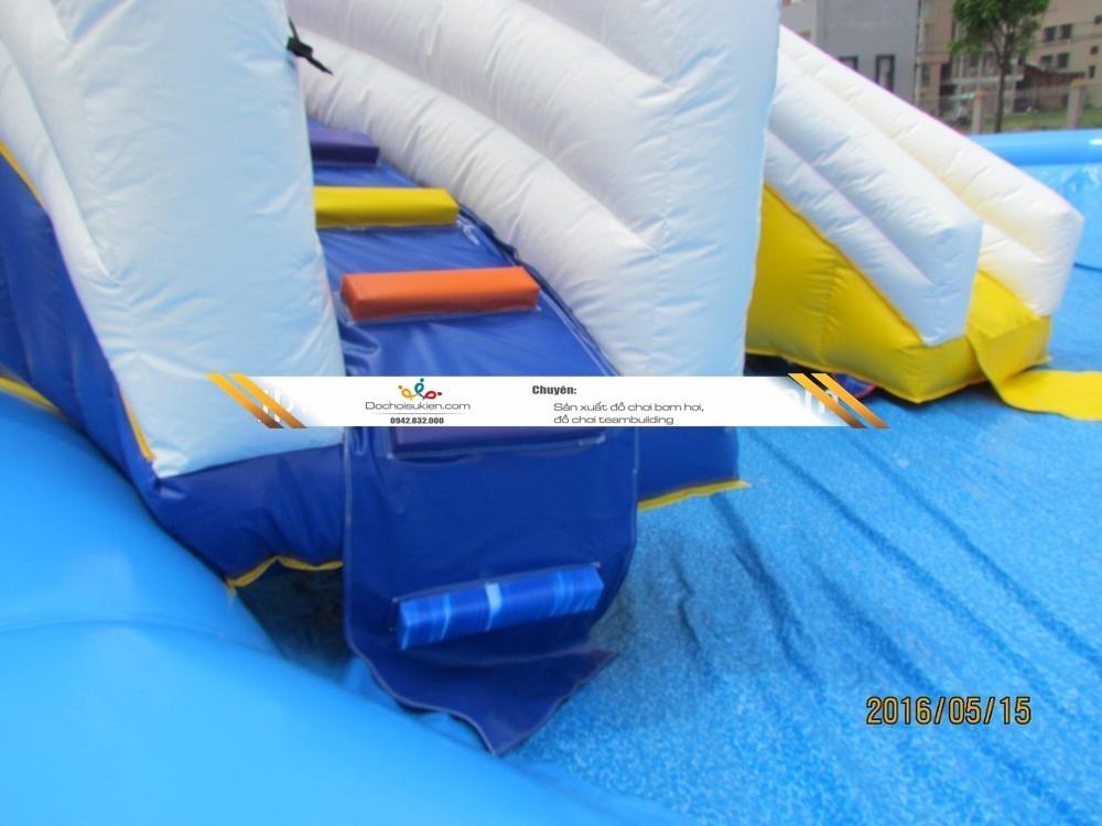 nhà hơi trượt nước cho trẻ em