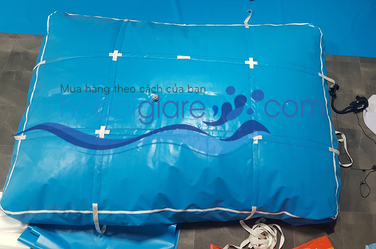 túi chứa nước dạng nằm